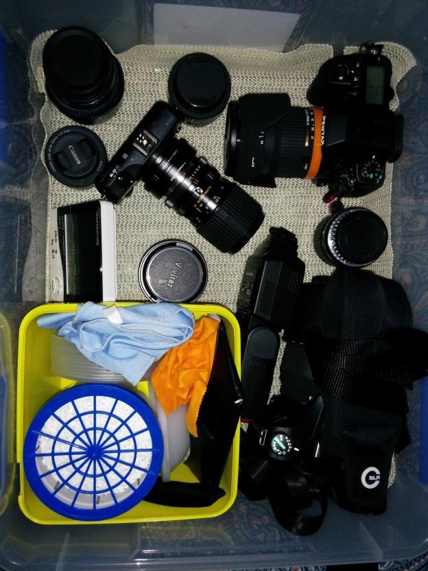DIY Camera Dry Box